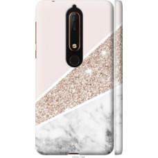 Чехол на Nokia 6 2018 Пастельный мрамор (4342c-1386)