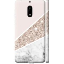 Чехол на Nokia 6 Пастельный мрамор (4342c-898)