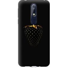 Чехол на Nokia 7.1 Черная клубника (3585u-1593)