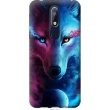 Чехол на Nokia 7.1 Арт-волк (3999u-1593)