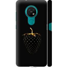 Чехол на Nokia 6.2 Черная клубника (3585c-2018)