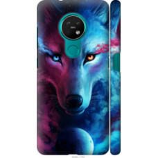Чехол на Nokia 6.2 Арт-волк (3999c-2018)