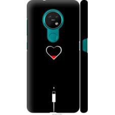 Чехол на Nokia 6.2 Подзарядка сердца (4274c-2018)