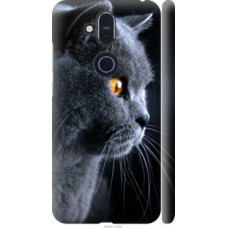 Чехол на Nokia 8.1 Красивый кот (3038c-1620)