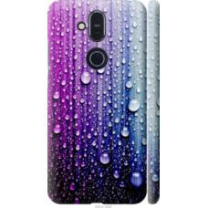 Чехол на Nokia 8.1 Капли воды (3351c-1620)