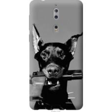 Чехол на Nokia 8 Доберман (2745u-1115)