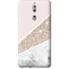 Чехол на Nokia 8 Пастельный мрамор (4342u-1115)