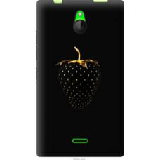 Чехол на Nokia X2 Dual SIM Черная клубника (3585u-469)
