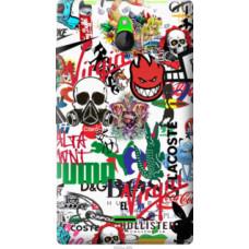 Чехол на Nokia X2 Dual SIM Many different logos (4022u-469)