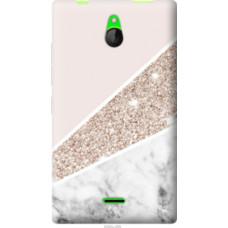 Чехол на Nokia X2 Dual SIM Пастельный мрамор (4342u-469)