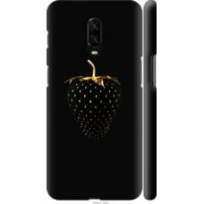 Чехол на OnePlus 6T Черная клубника (3585c-1587)