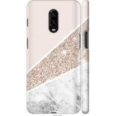 Чехол на OnePlus 6T Пастельный мрамор (4342c-1587)