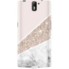 Чехол на OnePlus 1 Пастельный мрамор (4342u-379)