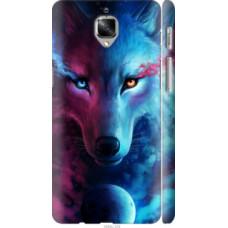 Чехол на OnePlus 3T Арт-волк (3999c-1617)