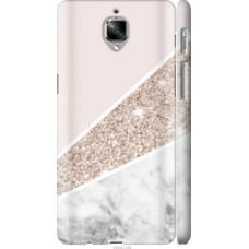 Чехол на OnePlus 3T Пастельный мрамор (4342c-1617)
