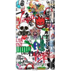 Чехол на OnePlus X Many different logos (4022c-385)