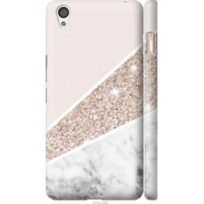 Чехол на OnePlus X Пастельный мрамор (4342c-385)