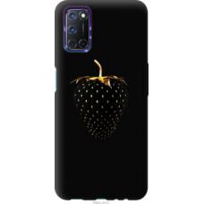 Чехол на Oppo A72 Черная клубника (3585u-2011)