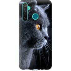 Чехол на Realme 5 Pro Красивый кот (3038u-1861)