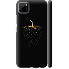 Чехол на Realme C11 Черная клубника (3585c-2031)