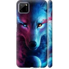 Чехол на Realme C11 Арт-волк (3999c-2031)