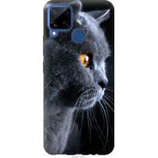 Чехол на Realme C15 Красивый кот (3038u-2063)