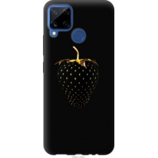 Чехол на Realme C15 Черная клубника (3585u-2063)