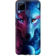 Чехол на Realme C15 Арт-волк (3999u-2063)