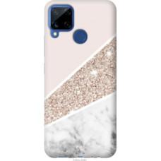 Чехол на Realme C15 Пастельный мрамор (4342u-2063)