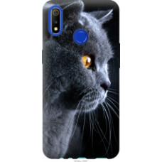 Чехол на Realme 3 Красивый кот (3038u-1869)