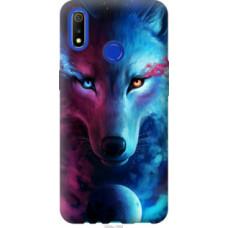 Чехол на Realme 3 Арт-волк (3999u-1869)