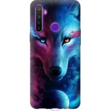 Чехол на Realme 5 Арт-волк (3999c-1862)