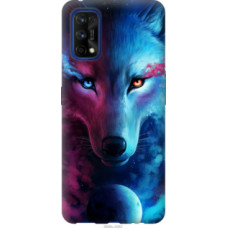 Чехол на Realme 7 Pro Арт-волк (3999u-2082)