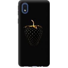 Чехол на Samsung Galaxy A01 Core A013F Черная клубника (3585c-2065)