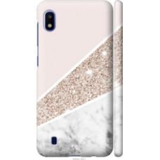 Чехол на Samsung Galaxy A10 2019 A105F Пастельный мрамор (4342c-1671)