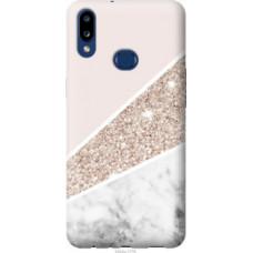Чехол на Samsung Galaxy A10s A107F Пастельный мрамор (4342u-1776)