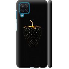 Чехол на Samsung Galaxy A12 A125F Черная клубника (3585c-2201)