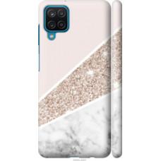 Чехол на Samsung Galaxy A12 A125F Пастельный мрамор (4342c-2201)