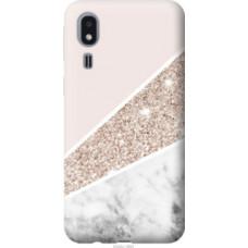 Чехол на Samsung Galaxy A2 Core A260F Пастельный мрамор (4342u-1683)