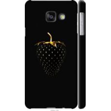 Чехол на Samsung Galaxy A3 (2016) A310F Черная клубника (3585c-159)