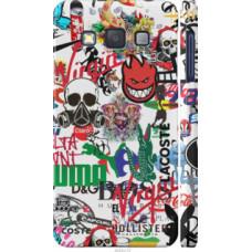 Чехол на Samsung Galaxy A3 A300H Many different logos (4022c-72)