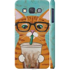 Чехол на Samsung Galaxy A3 A300H Зеленоглазый кот в очках (4054c-72)