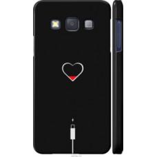 Чехол на Samsung Galaxy A3 A300H Подзарядка сердца (4274c-72)