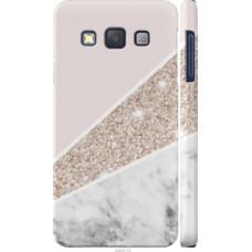 Чехол на Samsung Galaxy A3 A300H Пастельный мрамор (4342c-72)