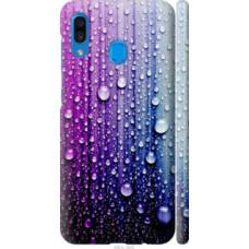 Чехол на Samsung Galaxy A30 2019 A305F Капли воды (3351c-1670)