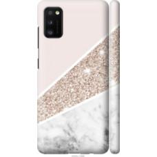 Чехол на Samsung Galaxy A41 A415F Пастельный мрамор (4342c-1886)