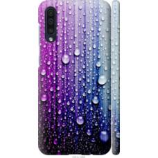 Чехол на Galaxy A30s A307F Капли воды (3351c-1804)