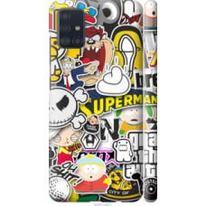Чехол на Samsung Galaxy A51 2020 A515F Popular logos (4023c-1827)