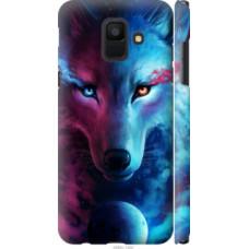 Чехол на Samsung Galaxy A6 2018 Арт-волк (3999c-1480)