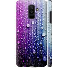 Чехол на Samsung Galaxy A6 Plus 2018 Капли воды (3351c-1495)